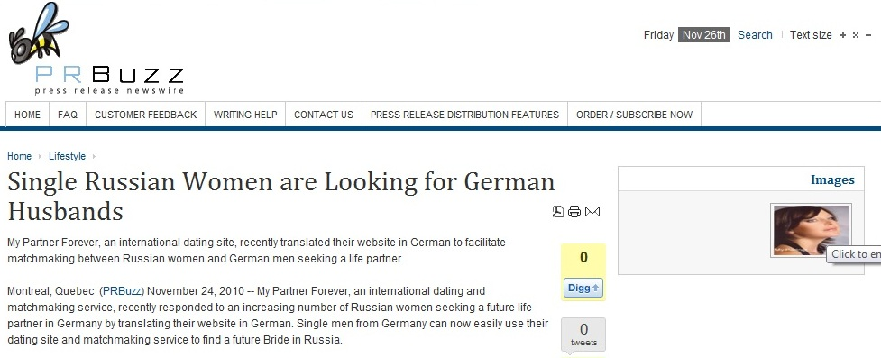 Men seeking women germen