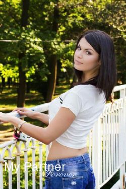 Dating with Charming Ukrainian Woman Marina from Zaporozhye, Ukraine