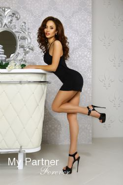 Online Dating with Beautiful Ukrainian Woman Elizaveta from Kiev, Ukraine