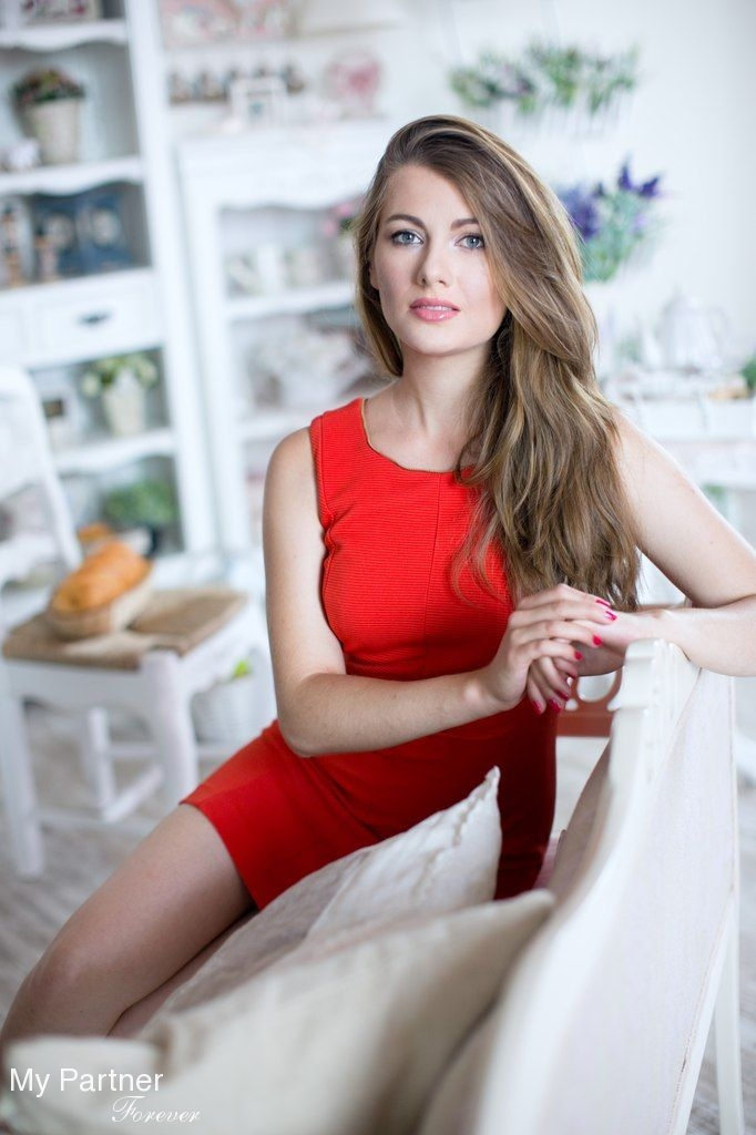 Online Dating with Beautiful Ukrainian Woman Anastasiya from Kiev, Ukraine